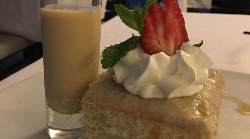 Aruba cashew cake for Christmas at Bucuti & Tara Beach Resort - Melanie Reffes