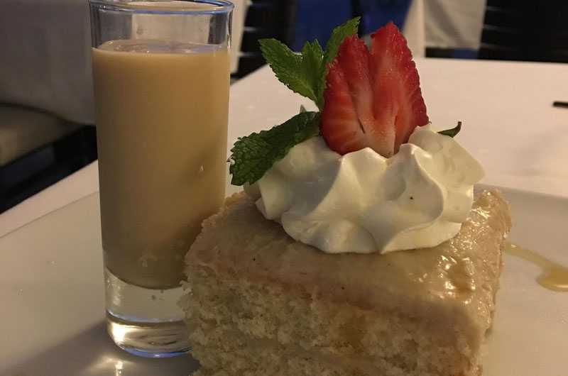 Aruba cashew cake for Christmas at Bucuti & Tara Beach Resort - Melanie Reffes