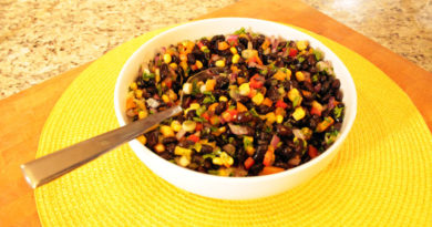 Black Bean Salsa - by Chef Thia and Lakay Foods