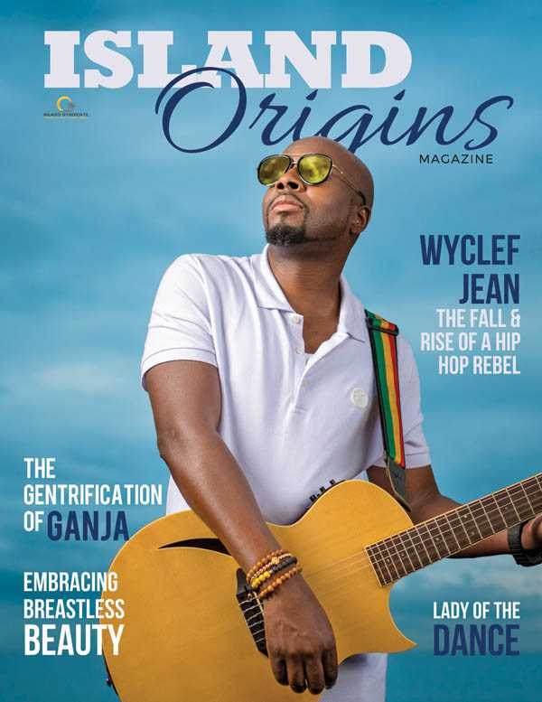 Wyclef Jean Island Origins Cover - Spring 2018