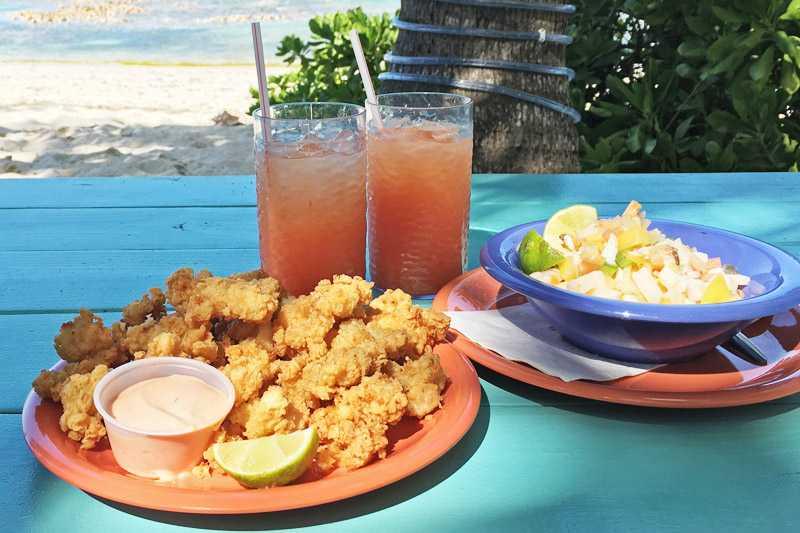 Bahamian Cracked Conch