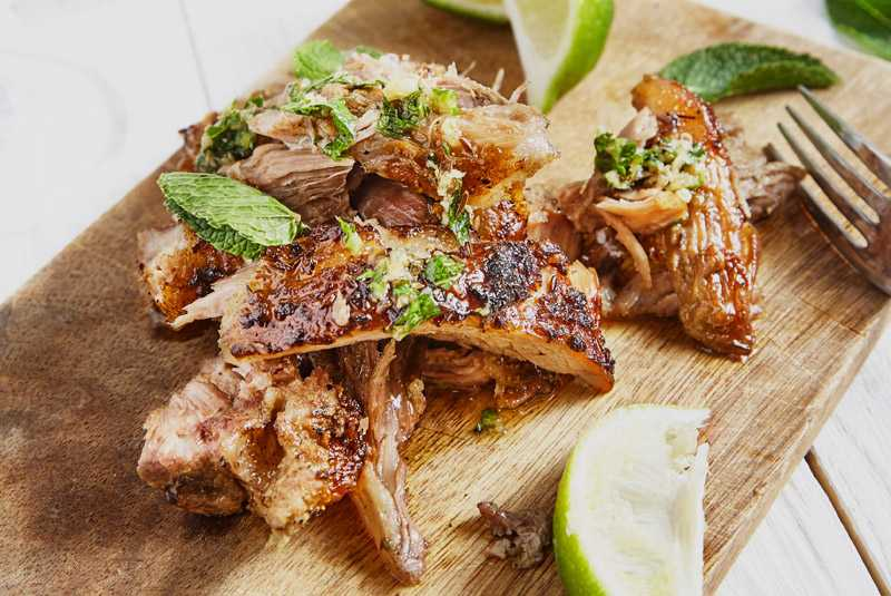 Cuban Pernil (Slow Roasted Pork Shoulder)