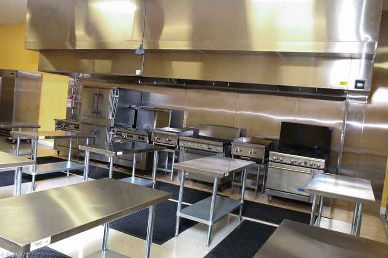 Kitchen Area at Pro Kitchen Hub