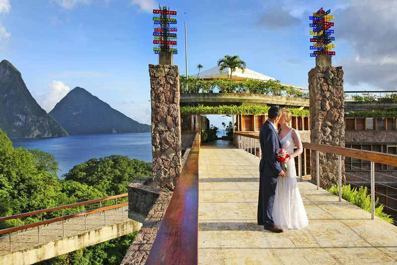 Weddings at Jade Mountain in Saint Lucia Credit Credit Anse Chastanet and Jade Mountain