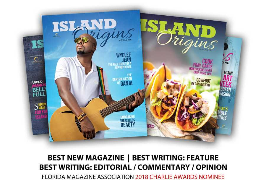 Island Origins nominated for Charlie Awards