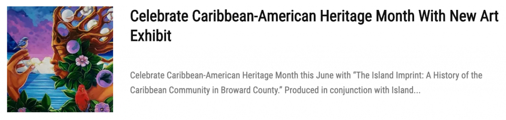 Explore The Hidden Caribbean Treasures Of Broward County