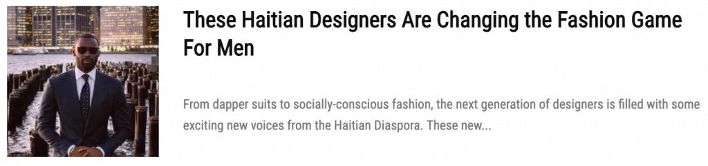 Meet The New Caribbean Designers Transforming Menswear