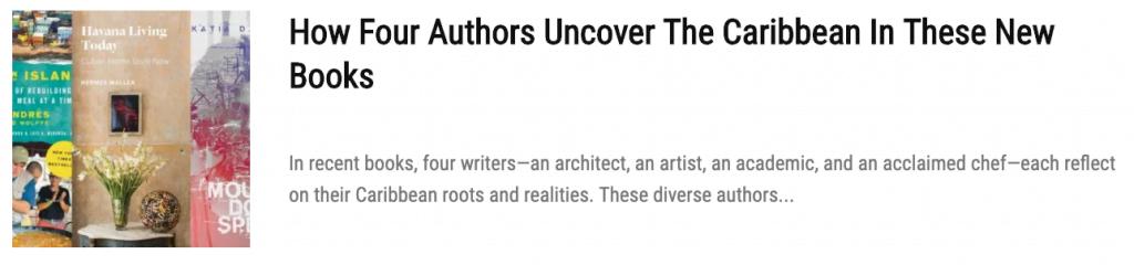 caribbean authors