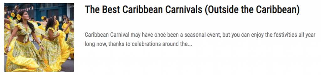 Why Caribbean Carnival Marches on To The Steel Pan Beat