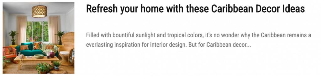 Explore Toni Suratsingh's City Chic take on Caribbean Interior Design
