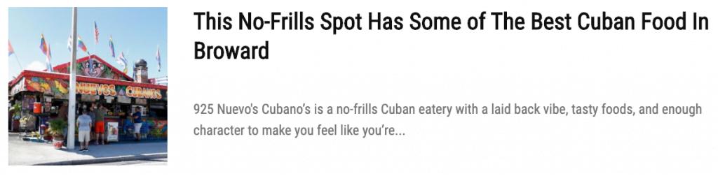 Discover Dominican Sushi (with Plátanos of course) at El Otro Tiesto cafe