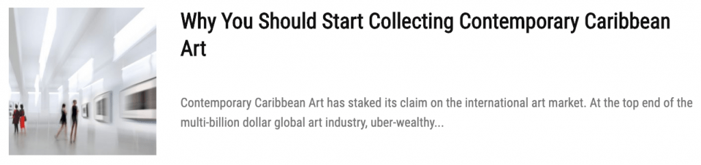 Why You Should Be Collecting Caribbean Art On Any Budget