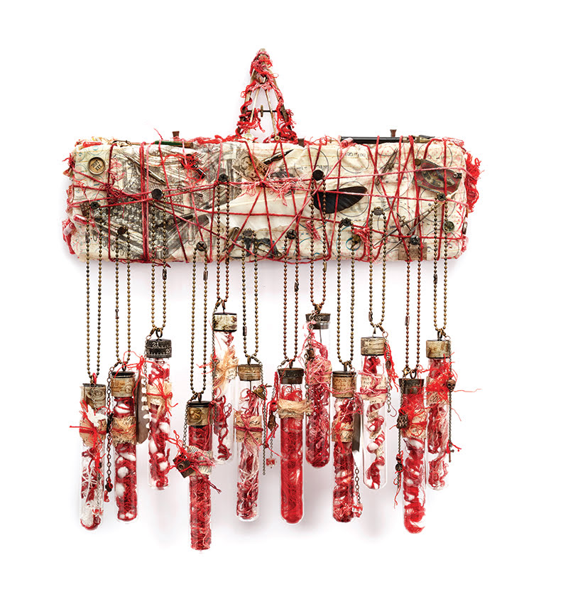 Trinidadian Artist Sonya Sanchez Arias Creates Upcycled Works of Art