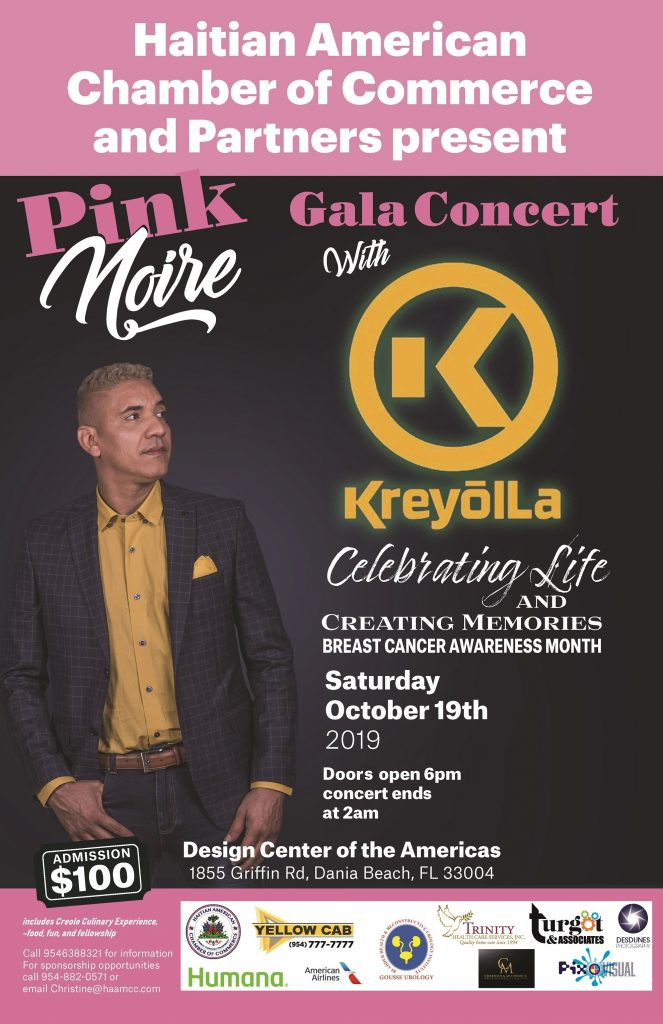 Haitian-American Chamber Presents Breast Cancer Awareness Gala in Broward