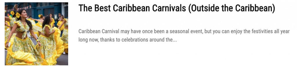 Add These East Coast Caribbean Carnivals to your Mas Dream List