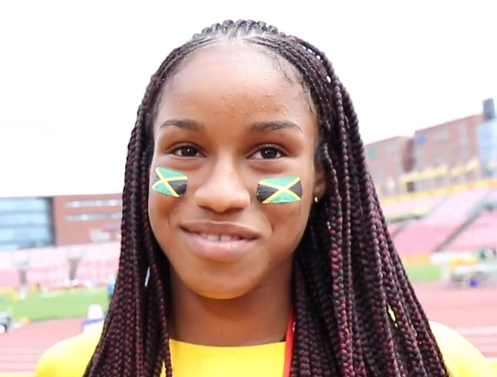 Jamaican Track Star Briana Williams signs multi-year contract with Nike