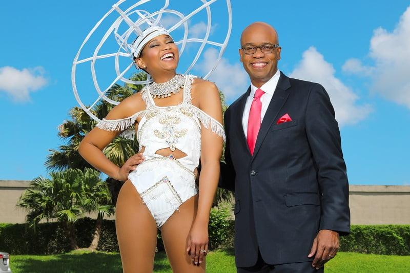 Marlon and Carla Hill - Caribbean Power Couple