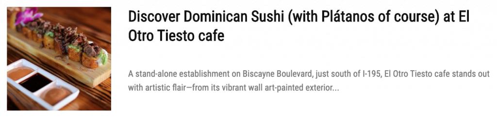 New Miami restaurant Dukunoo offers Jamaican food with modern twist