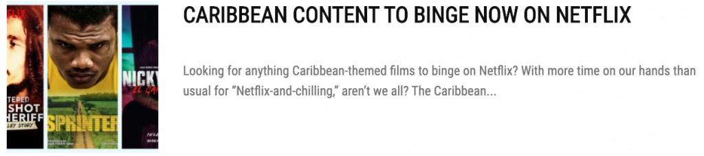 The Best Caribbean Movies To Binge Now On Amazon