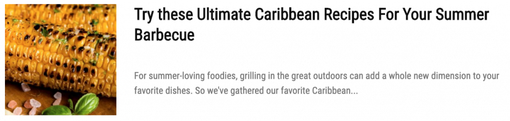 Try These Easy Caribbean Recipes With Pantry Staples