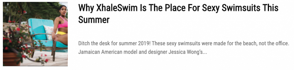 Caribbean designers swimwear
