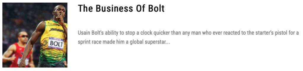 usain bolt business net worth
