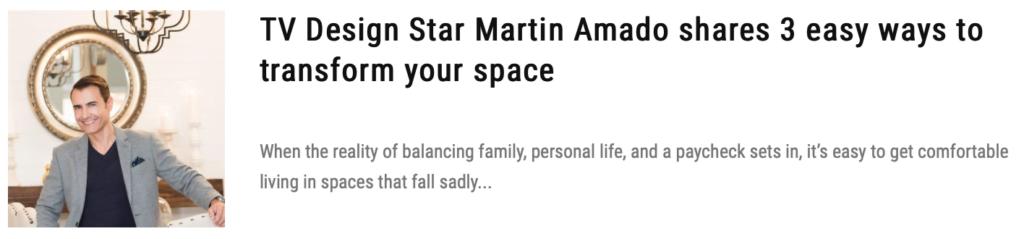 star martin tv desig